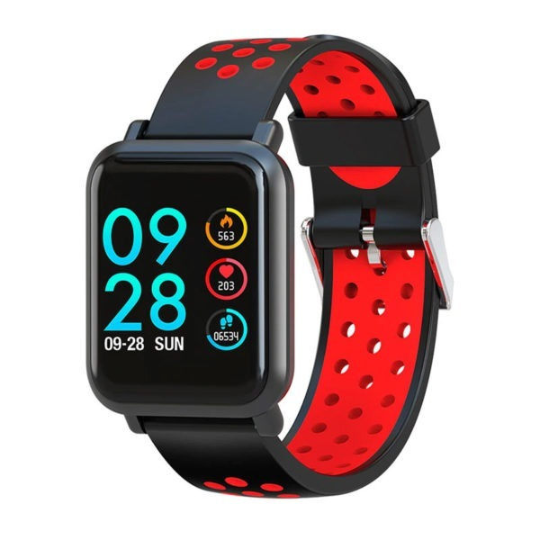 Smartwatch Colmi S9 con cinturino rosso