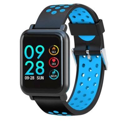 Smartwatch Colmi S9 con cinturino blu