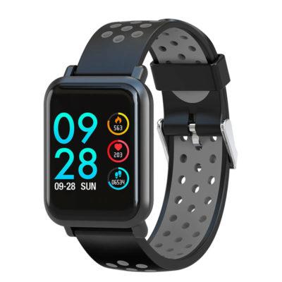Smartwatch Colmi S9 con cinturino nero